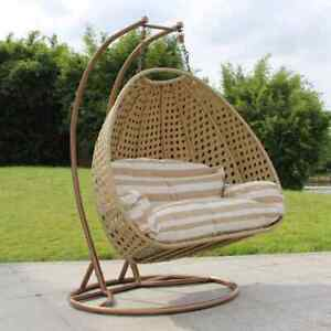 ALDI Similar Gardenline Hanging Egg Chair Large (Double ...