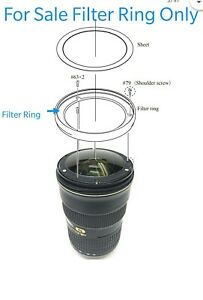 Filter-Ring-For-Nikon-AF-S-Nikkor-24-70mm-f-2-8G-ED-Lens-Parts-1K631-858-UV