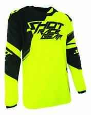 SHOT race gear CLAW motocross men/'s jersey EXTRA LARGE  A0E-12B1-B04-11 neon org