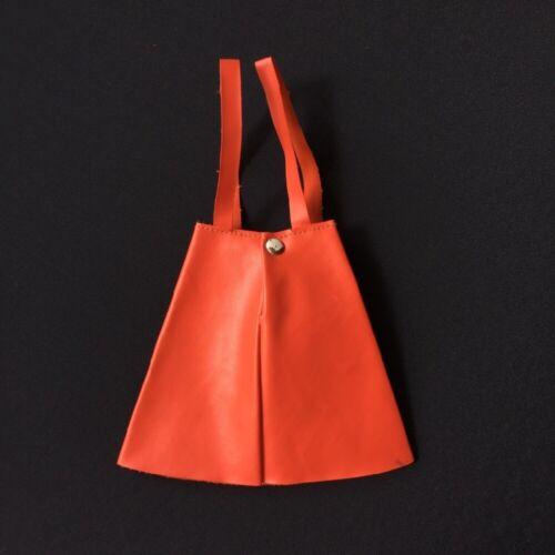 Vintage Sindy Leather Looker 1963 red vinyl skirt braces 12S51 doll ShimmyShim