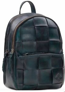 60bdd0f10d4 New Patricia Nash Jacini Backpack wash stained leather brass tone ...