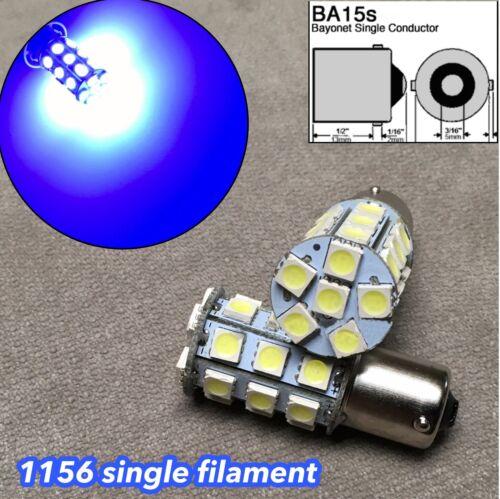 2X Blue LED Rear Signal Light S25 1156 BA15S 3497 1141 27 for Hyundai