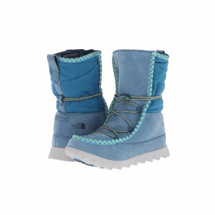 North Face Sisque Heatseeker bluee Suede Short Boots 6  150