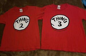 Size-XS-Thing-2-amp-Thing-3-Tshirts-Read-Description