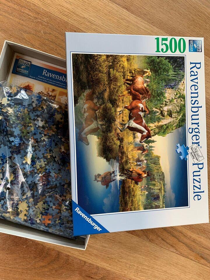 Ravensburger 1500 brikker, voksen - puslespil, puslespil