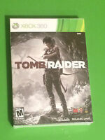 Tomb Raider Xbox 360 W/ Comic Book - Brand / Factory Sealed