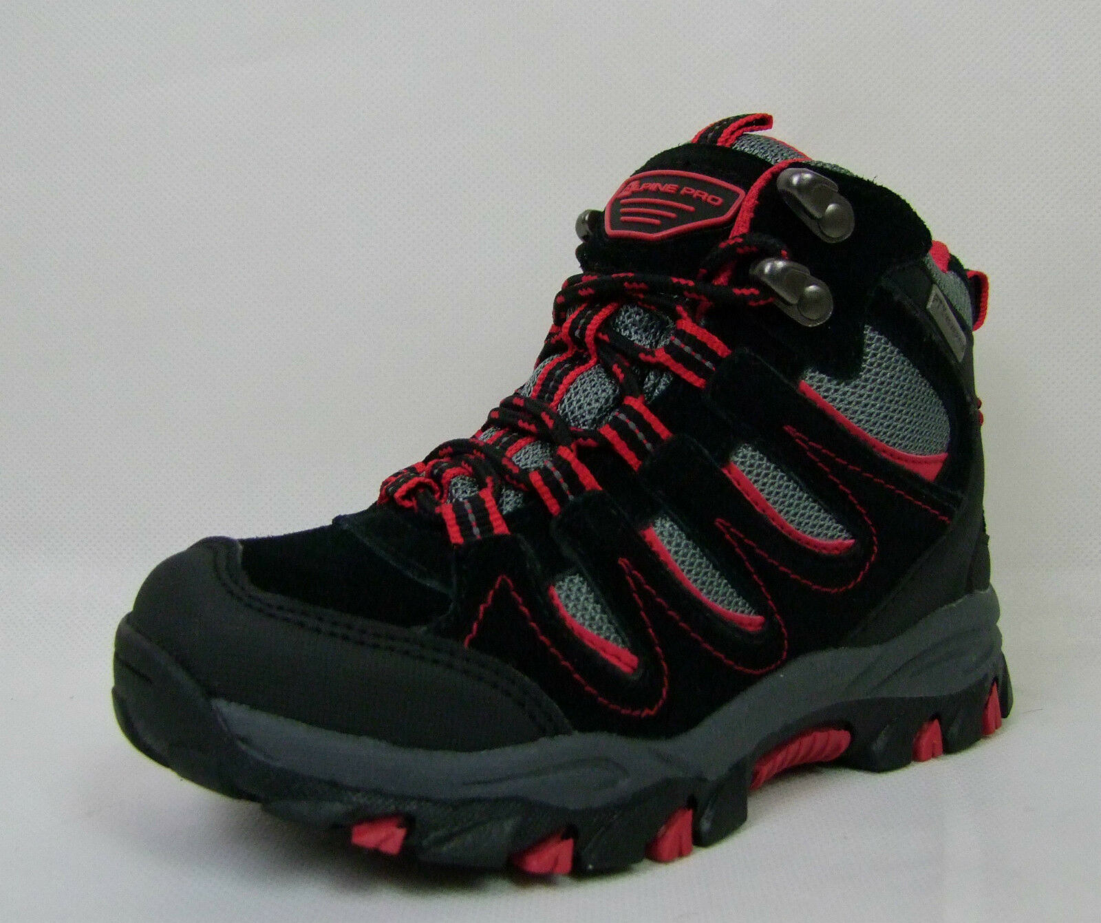 Kinder Wanderschuhe Wanderschuhe Wanderschuhe Alpine Pro Efro Outdoor Schuhe schwarz rot WASSERDICHT 3f7567