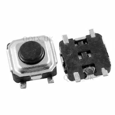 140pcs momentary tactile push button switch micro SMD SMT tact switches VBUK