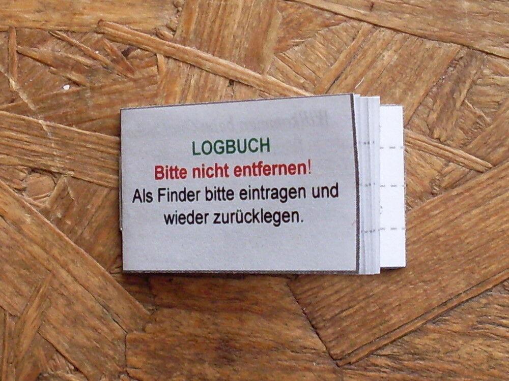 Geocaching de GEOCACHE-Journal de Geocaching bord pour filmdose 50mm Boîte NEUF e60f1c