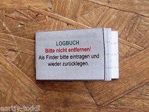 Geocaching GEOCACHE-Journal de bord pour filmdose 50mm Boîte NEUF-afficher le titre d`origine VUh55ujl-07155921-345744350
