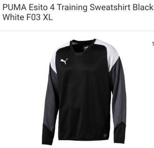 Sudadera Esito Xl Puma Ropa 4 F03 Blanco entrenamiento Negro Nuevo de zIdwPIq