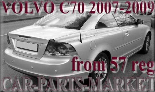 Left Passenger side Wing mirror glass for Volvo c70 2007-09 heated plate