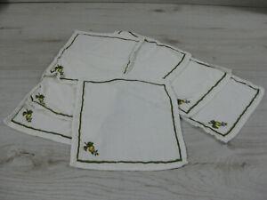 1 Stoffserviette 26 cm x 28 cm WILDROSE