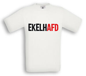 EKELHAFD Hoodie Punk Hardcore Antifa Fuck AFD Antifascist Gegen Nazis HC