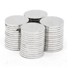 50 tlg Runder Starke Neodym Magnete N52 NdFeB Supermagnete Pinnwand10mm x 1mm