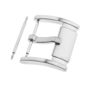 Brushed-Stainless-Steel-Replacement-Watch-Pin-Buckle-for-Watch-Band-Strap-Silver