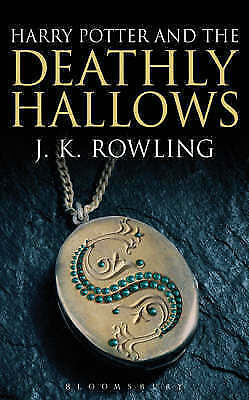 """1 of 1 - """"VERY GOOD"""" Harry Potter and the Deathly Hallows (Book 7) [Adult Edition]: 832,"""