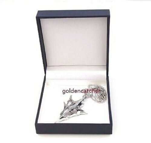 Final Fantasy XIII FF13 LIGHTNING RETURNS Necklace PENDANT Stainless Steel