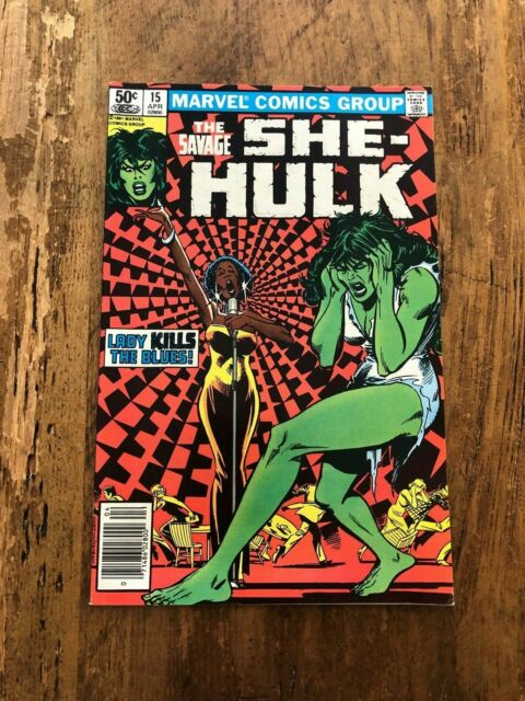 The Savage She-Hulk Comic Book #15 Marvel Comics 1981 FN Newsstand @