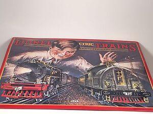 Hallmark Lionel 1929 Catalog Cover Tin Sign Replica Great American Railways