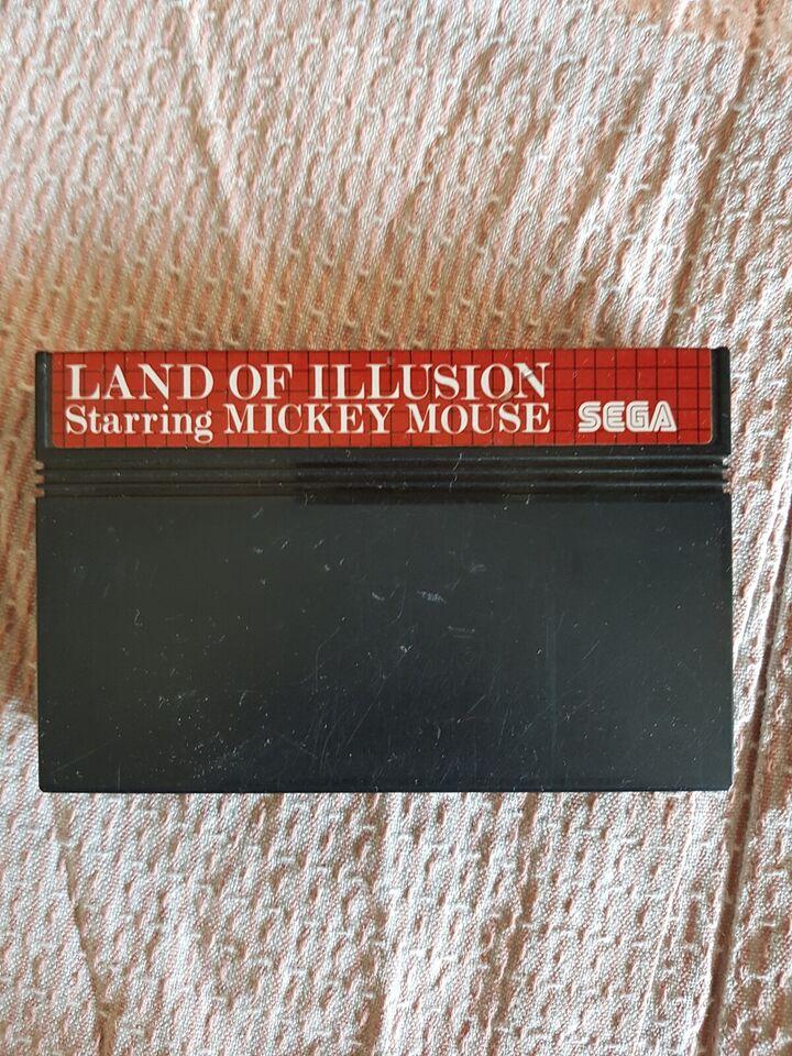 land of illusion , Sega master system