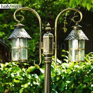Lampadaire Lampe sur pied Éclairage extérieur Lampe de jardin ...