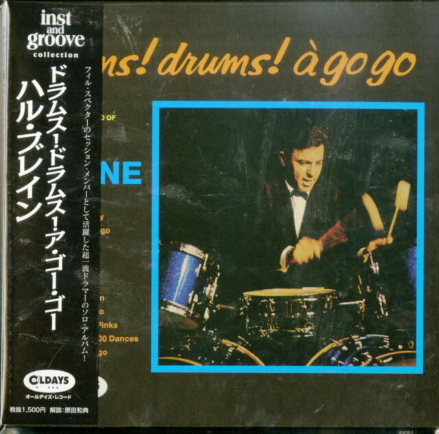 HAL BLAINE-DRUMS! DRUMS! A GO GO-JAPAN MINI LP CD BONUS TRACK C94
