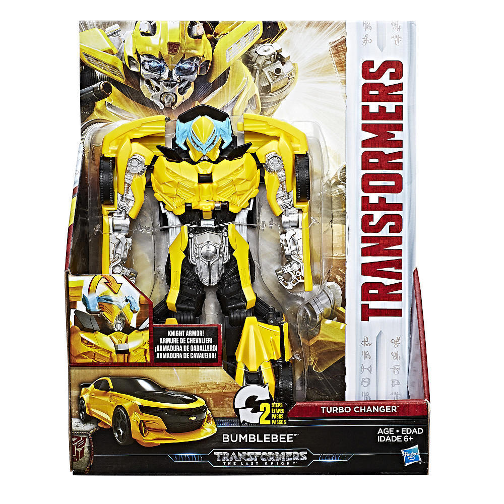 Transformers MV5 The Last Knight W1 Turbo Changer Bumblebee