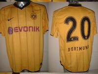 Borussia Dortmund Adult L Nike Match Shirt Jersey Trikot Football Soccer Player