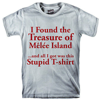 T-shirt donna Trust me I/'m Guybrush Threepwood Mighty Pirate Monkey Island