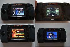 atari lynx 2 moddée avec un nouvel écran LCD (mint)