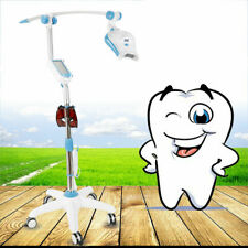 Dental 5 Touch Screen Led Teeth Whitening System Bleaching Light Lamp With Wheel