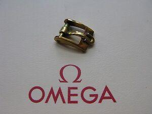 Omega-Vintage-Chapado-En-Oro-8mm-Hebilla-Muy-Raro-amp-Atractivo