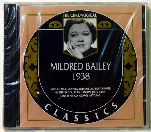 The Chronogical Classics - Mildred Bailey 1938 - Neu! (R)