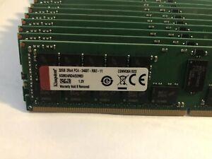 Kingston 32GB RAM (1 x 32GB Memory) 32GB PC4-2400 (KSM24RD4/32ME