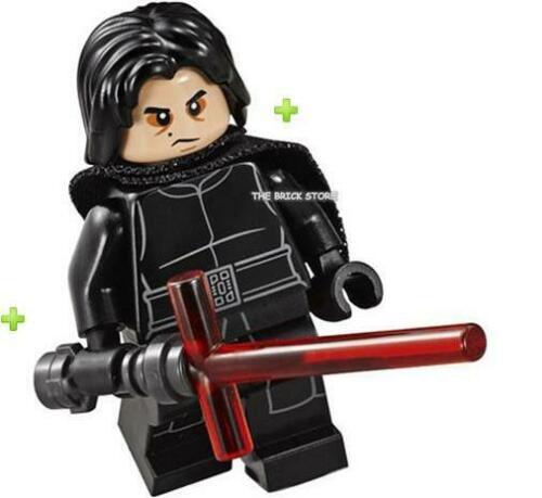 Lego Star Wars-Kylo Ren cadeau Figure-Fast 75139-2016-New cheveux