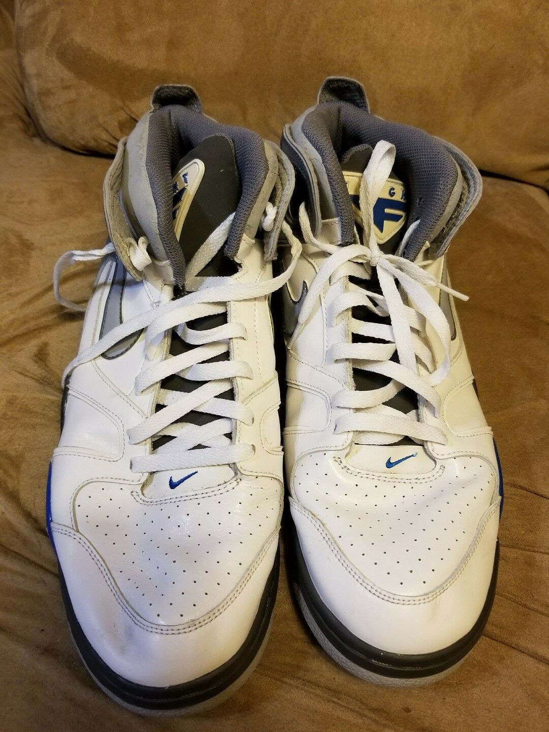 Nike Men's  Air Flight Classic  White Basketball shoes Size 14 New