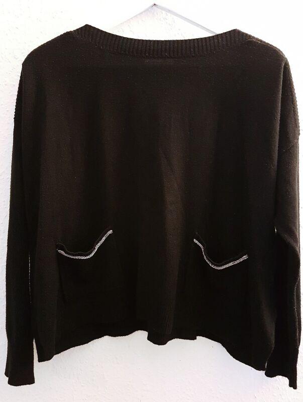 100% QualitäT A.v.v Standard Pullover Top Oberteil Pulli Sweater Schwarz Gr.s Niedriger Preis