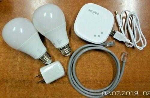 Sengled Element Classic Model E11-G13 2-Pack Z02-Hub Smart Bulb Starter Kit