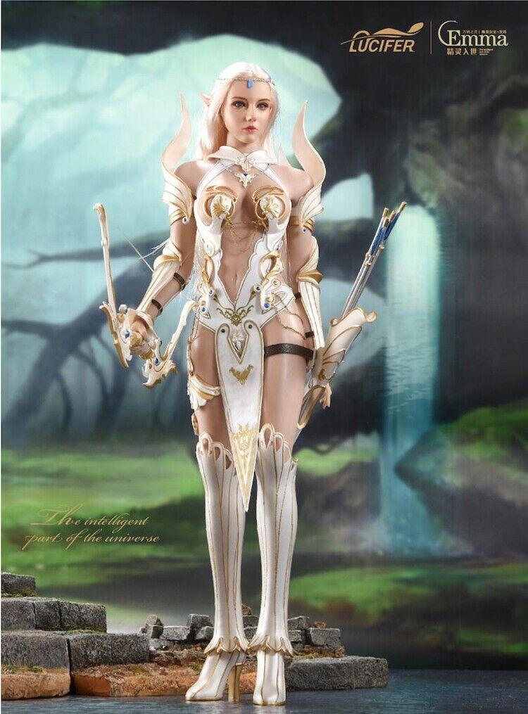 1 6 LUCIFER LXF1904A Elf Emma Myth Flexible Action Figure Figure Figure Collection Armor Ver. 1a9cec