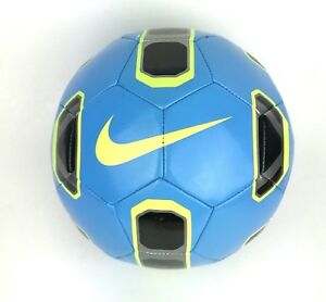 Nike-Tracer-Training-Soccer-Ball-Futebol-Cyan-Black-Volt-SIze-5-NEW