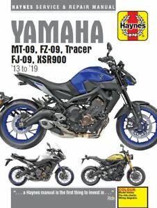 Haynes-Manual-6333-for-Yamaha-MT-09-Tracer-amp-XSR900-13-19-workshop-service