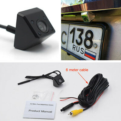 Self-Conscious 4 Ir Light Car Reverse Rear View Camera Night Vision Wide Angle Waterproof Car & Truck Parts Exterior