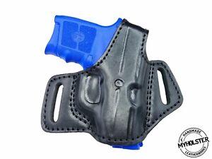 Kel-Tec P-32 Right Hand OWB Thumb Break Leather Belt Holster