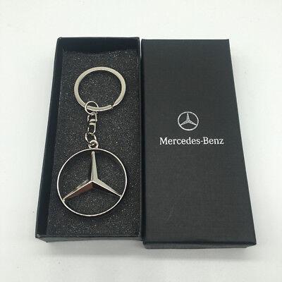 Mercedes Benz 3D Alloy Car Logo keychain keyring Pendant Holder key chain