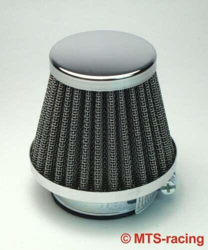 1x Racing Luftfilter Air filter filtre à air Sport Ø 42 mm Kawasaki Suzuki Honda