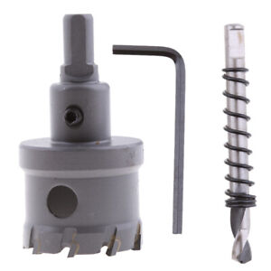 40mm Carbide Hole Saw Cutter Drill Bit for Stainless Steel Alloy