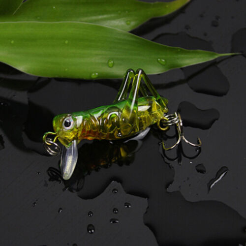 Sea Fishing Tackle Flying Fishing Lures Jig Wobbler Lure Grasshopper Insects HL