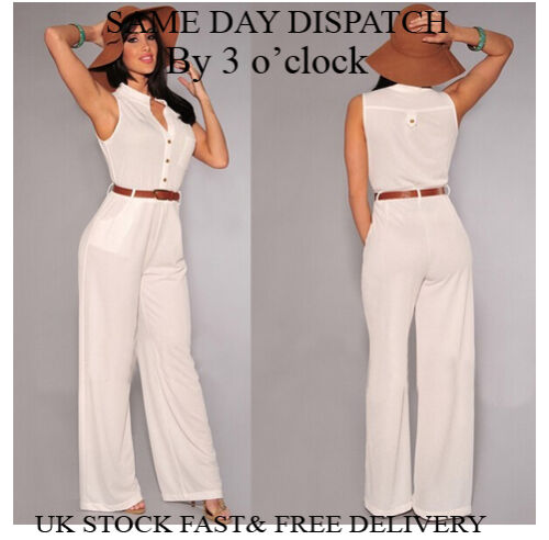 Womens Summer Holiday Ladies Jumpsuit Evening Party Playsuit Ladies Vincenza UK