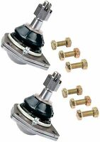 Pair 2 Of Upper Ball Joints Joint Chevy Nova 62 63 64 65 67 67